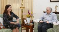 Ms. Susan Grace, Australian Consul General in Chennai calls on the Governor