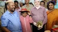 With  Kerala  Agriculture Minister V S Sunil Kumar at  Vaiga  Agri Fest  Thiruvananthapuram