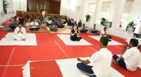International Yoga Day 2017 at Kerala Raj Bhavan