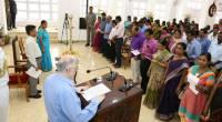Governor leads the Sadbhavana Pledge on 19th August