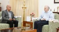 Shri Tom Jose, who took charge as Chief Secretary , Government of Kerala called on me at Kerala Raj Bhavan